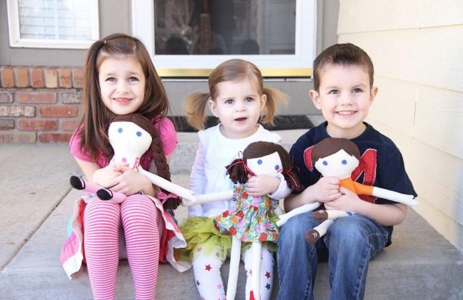 14. Милые куклы своими руками