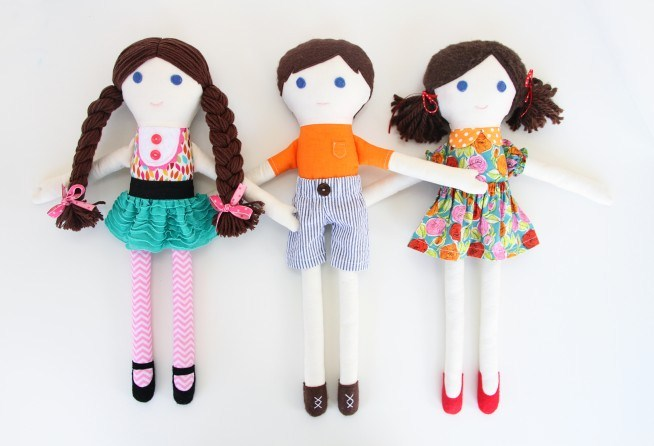 62. Милые куклы своими руками