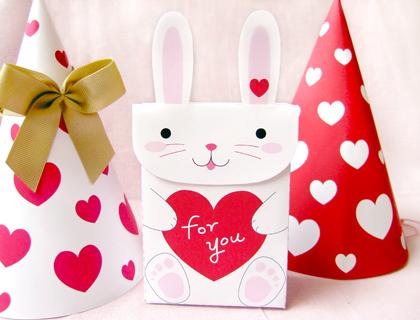 01. День Святого Валентина: бумажная упаковка для подарков