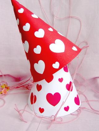02. День Святого Валентина: праздничный колпак