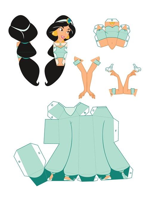 02. Принцессы Диснея Жасмин