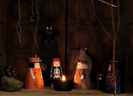 02. объемные куклы Хэллоуин