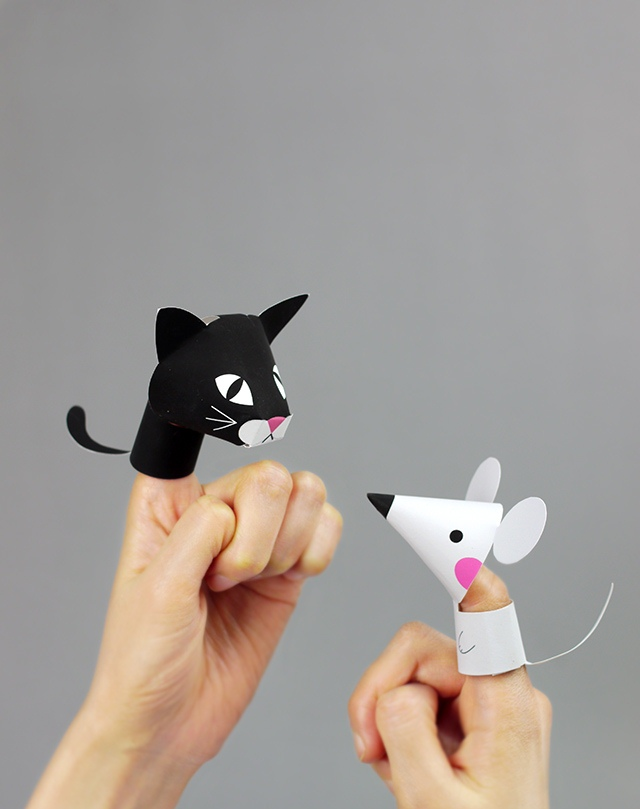 02. Животные пальчиковые куклы