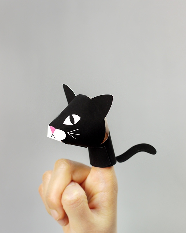 03. Пальчиковые игрушки животные