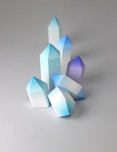 Как сделать из бумаги кристаллики 814