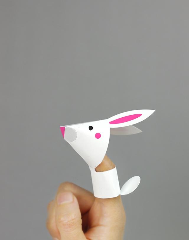 04. Пальчиковые игрушки животные