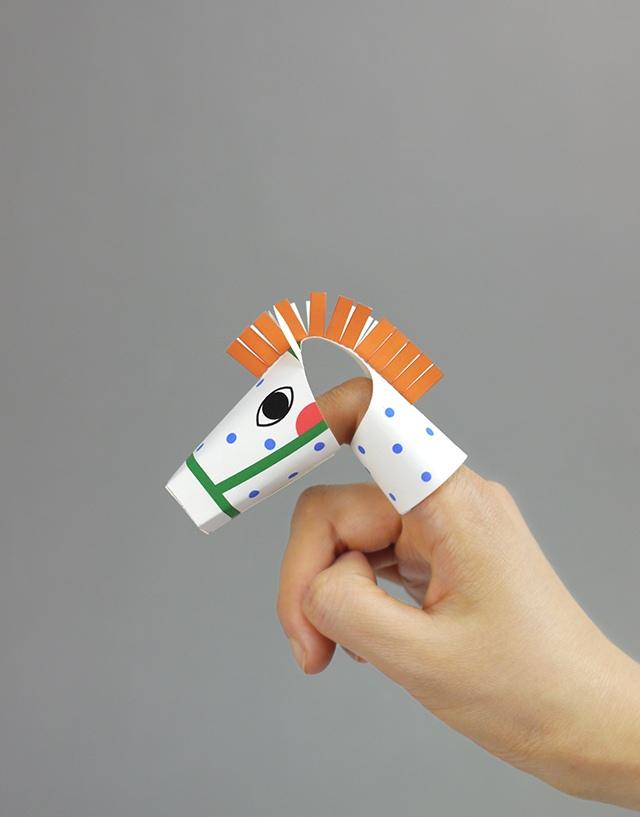05. Пальчиковые игрушки животные