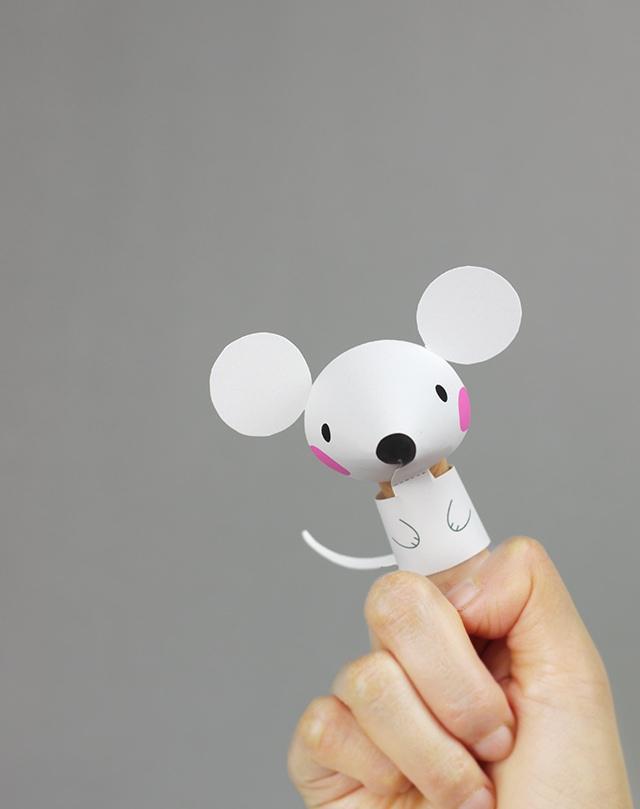 06. Пальчиковые игрушки животные