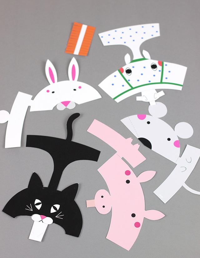 07. Пальчиковые игрушки животные