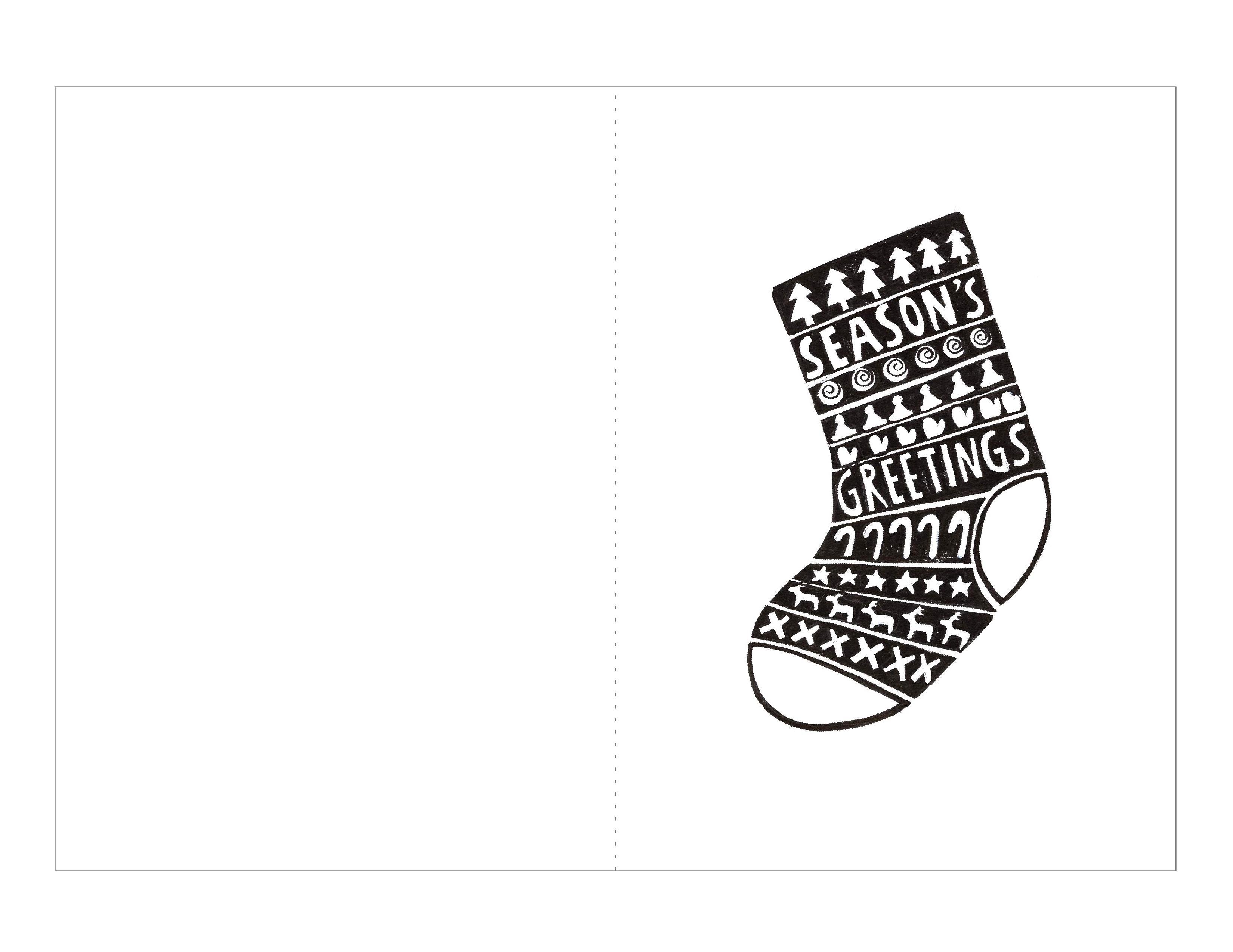 Шаблон для носков своими руками 33