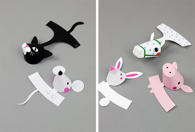 08. Пальчиковые игрушки животные
