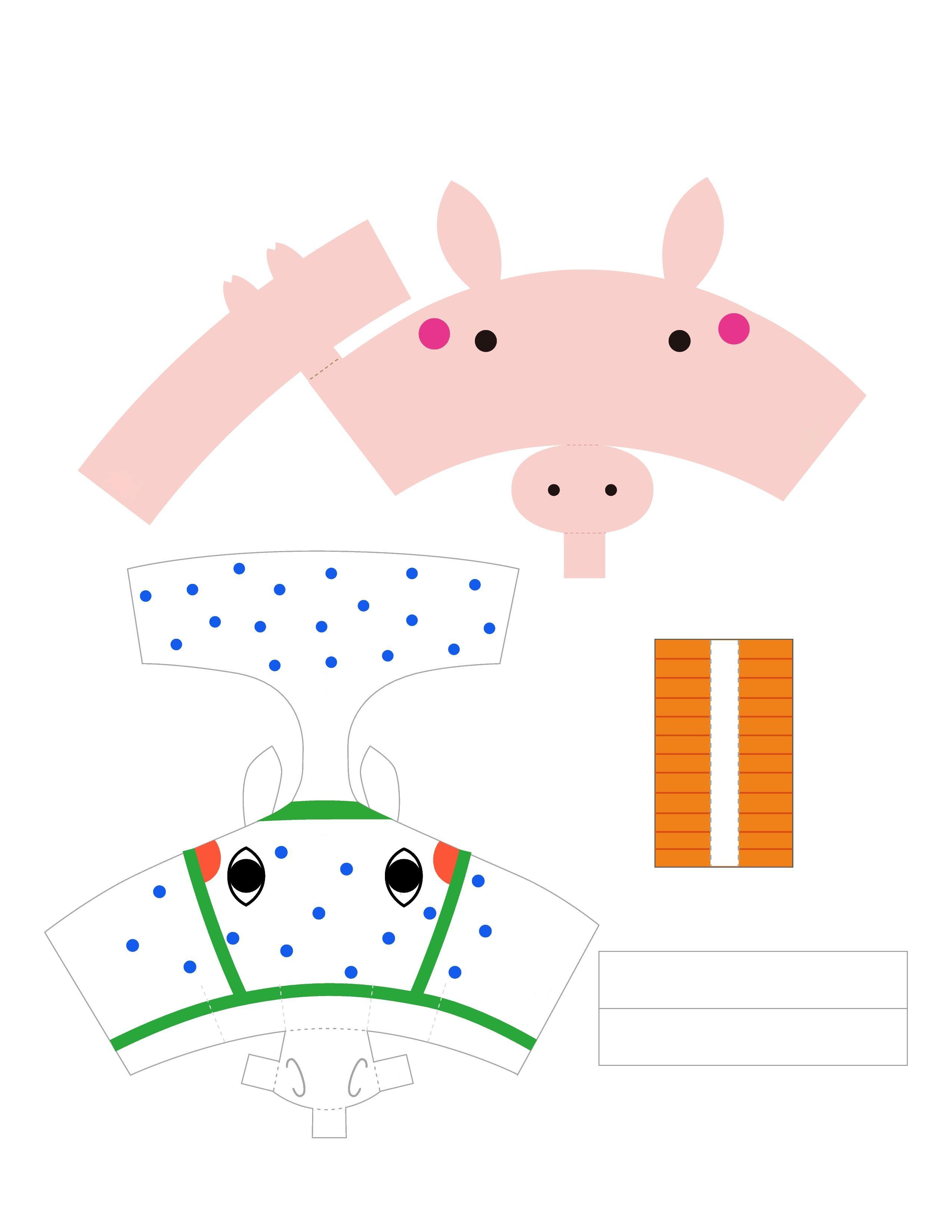 Как сделать из бумаги игрушки для кукол