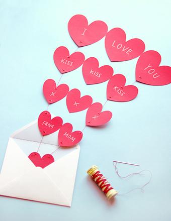 01. День Святого Валентина как сделать валентинку своими руками