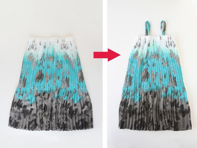 01. Как сшить платье для девочки своими руками из юбки