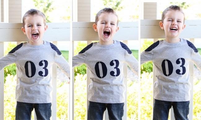 02. Как сшить для мальчика футболку