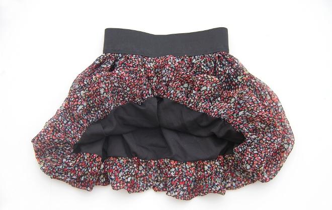 04. Как сшить юбку для девочки из шифона