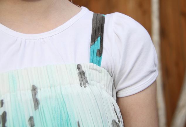 07. Как сшить платье для девочки из юбки