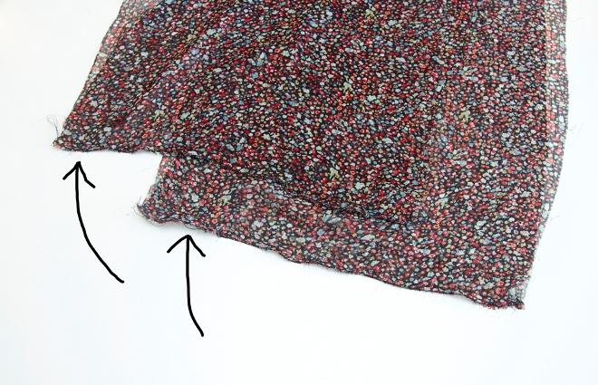08. Как сшить юбку для девочки из шифона