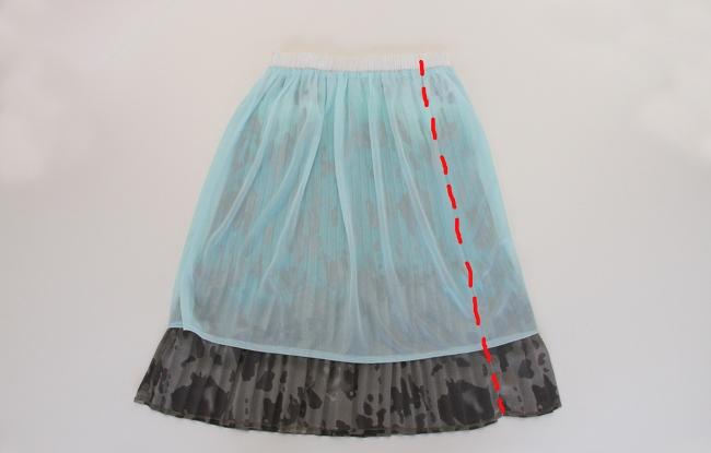 09. Как сшить платье для девочки из юбки