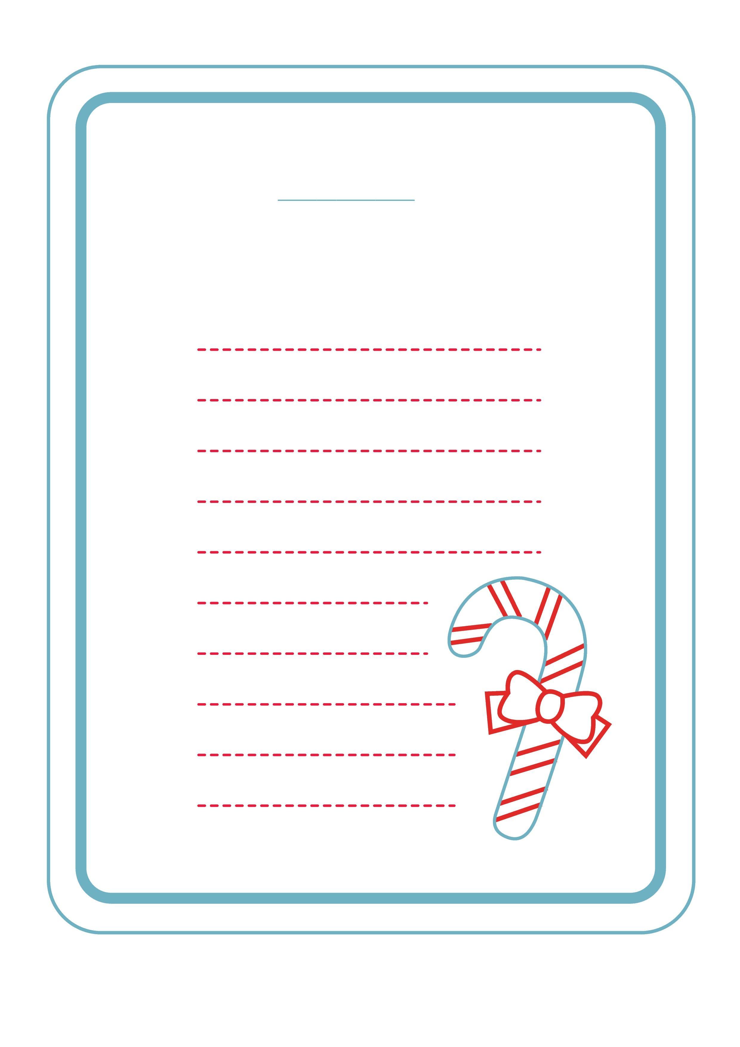 бланк для письма