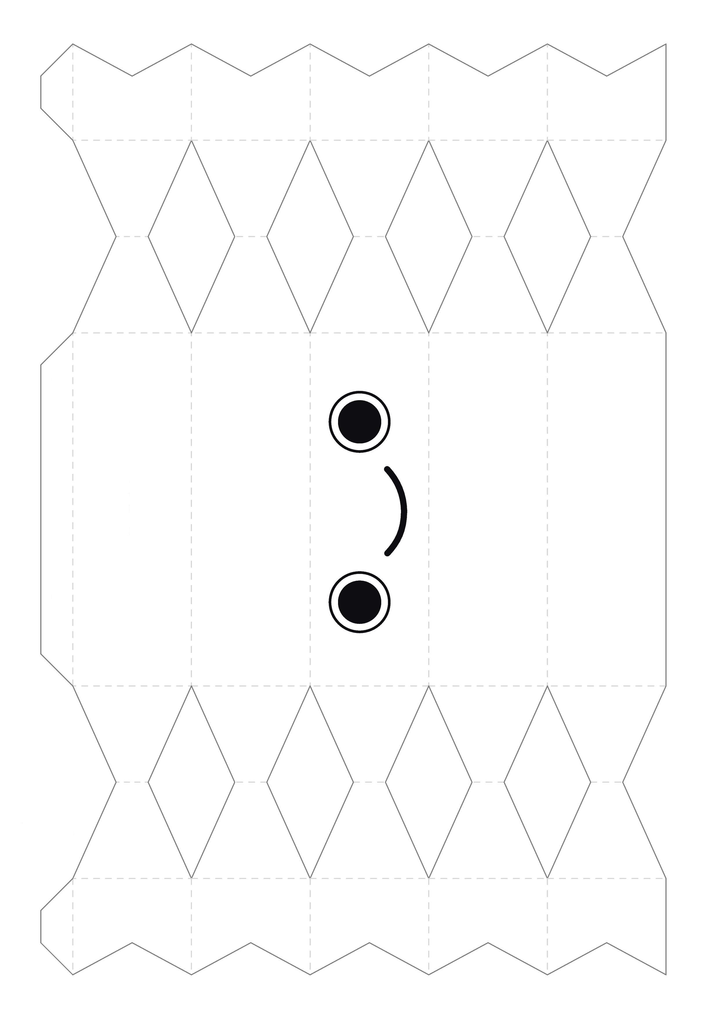 Коробочка конфета шаблоны