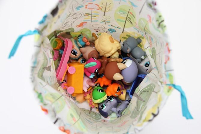 02. Мешок для игрушек хранение игрушек