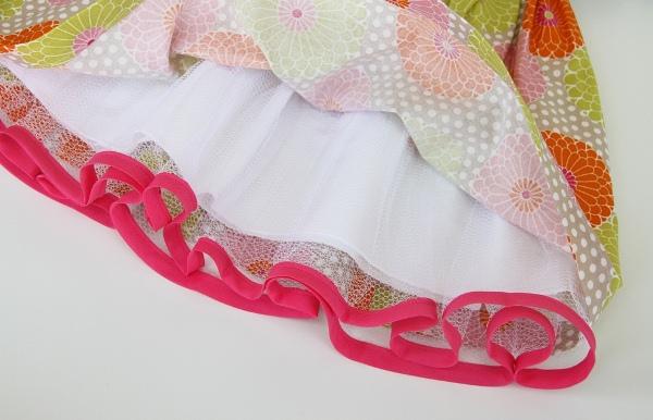 04. Как сшить пышную юбку для девочки
