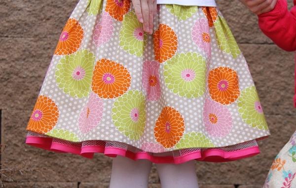05. Как сшить пышную юбку для девочки