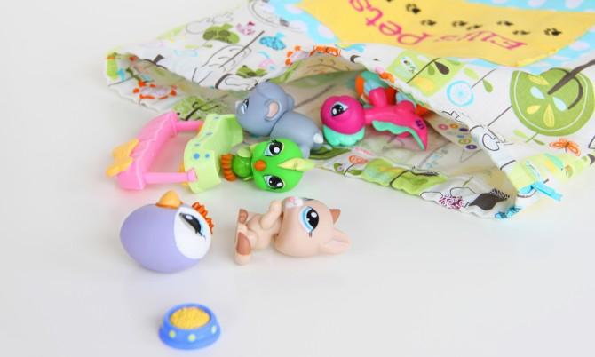 06. Мешок для игрушек хранение игрушек
