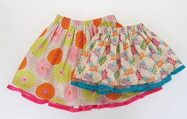 Как сшить красивые юбки для девочек