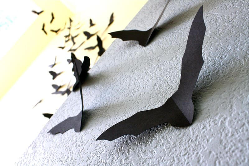 Сделать летучих мышей своими руками 37